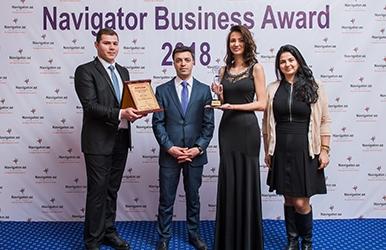 Achieved navigator business award